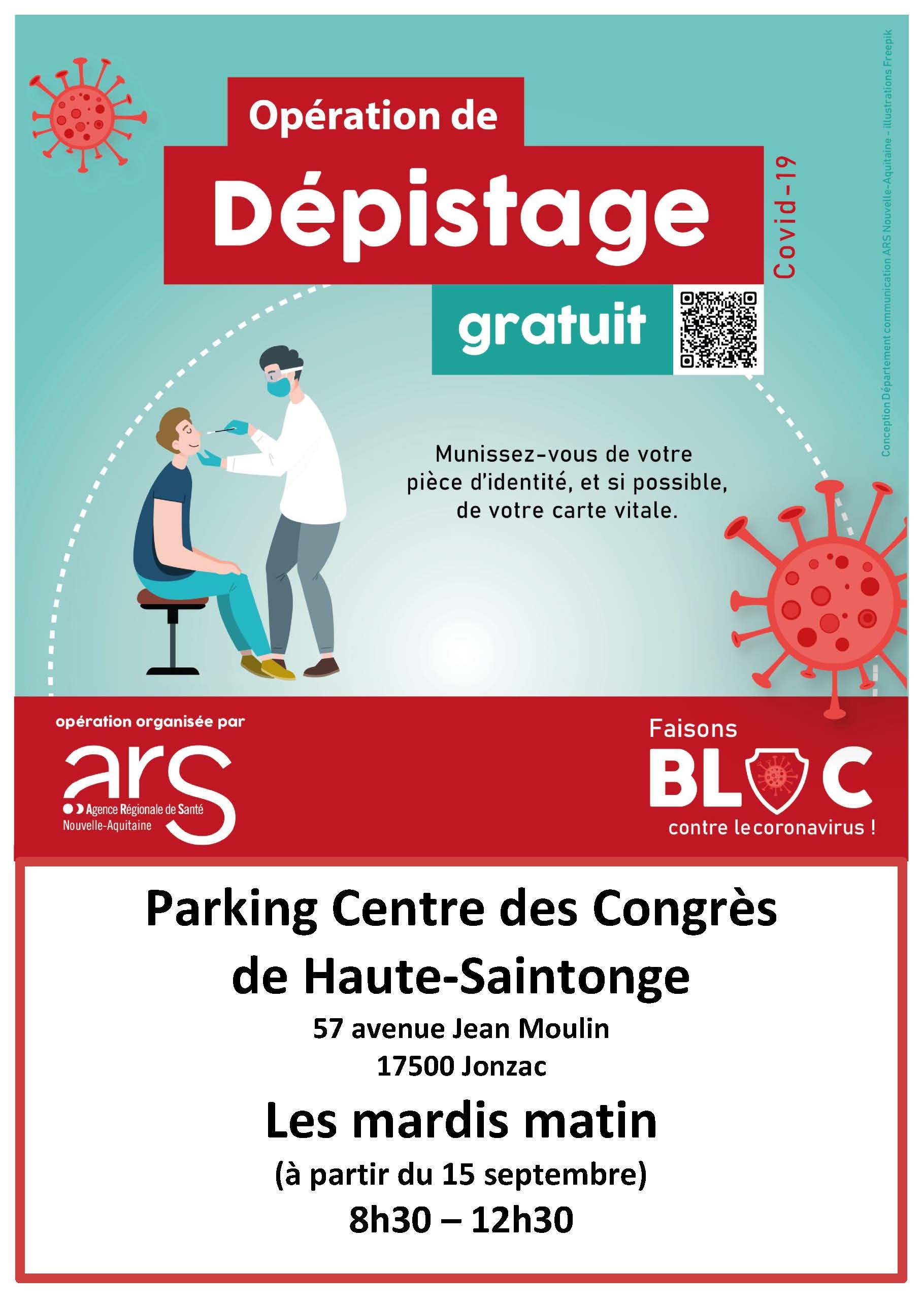 Depistage COVID-19